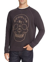 Junk Food Brooklyn Skull Graphic Sweatshirt 100 Bloomingdale's Exclusive Bkwa