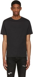 Blk Dnm Black Classic Fitted Greaser 43 T Shirt