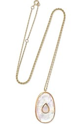 Pascale Monvoisin Simone 9 Karat Rose And Yellow Gold Rose Gold