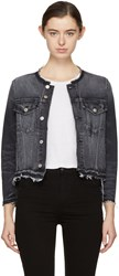 Amo Black Denim Lola Jacket