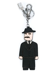 Dolce And Gabbana 'Dauphine' Man Keyring Black