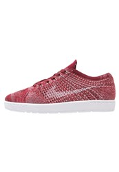 Nike Sportswear Tennis Classic Ultra Flyknit Trainers Team Red White Plum Fog