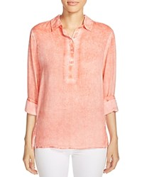 Prive Faded Shirt Coral