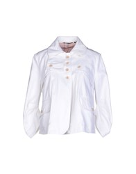 Amy Gee Blazers White