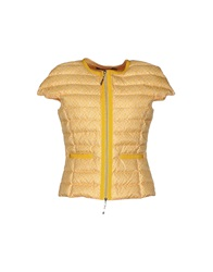 Jeckerson Down Jackets Yellow
