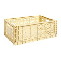 Hay Storage Crate Light Yellow L