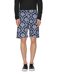 Madson Discount Trousers Bermuda Shorts Men Dark Blue