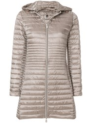 Save The Duck Hooded Padded Coat Metallic