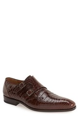 Mezlan Men's 'Agra' Double Monk Strap Shoe Sport