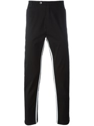 Dolce And Gabbana Side Stripe Trousers Black