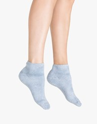 Baserange Buckle Ankle Socks Dusty Blue