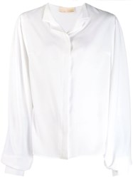 Antonio Berardi Loose Fitting Shirt White