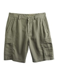 Tommy Bahama Key Grip Cargo Shorts Green