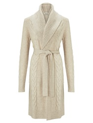 Alice By Temperley Somerset By Alice Temperley Cable Knit Cardigan Cream