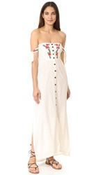 Cleobella Solita Maxi Dress Ivory