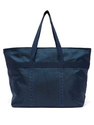 A.P.C. Paulin Large Ripstop Tote Navy