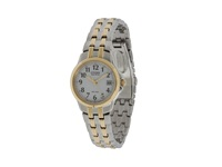 Citizen Ew1544 53A Eco Drive Silhouette Sport Two Tone Watch White Two Tone Stainless Steel Diving Watches Gold