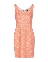 Roccobarocco Dresses Short Dresses Women Orange