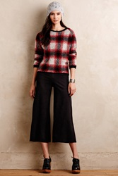 Level 99 Sueded Culottes Black