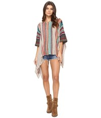 Free People Fressia Stripe Pullover Green Combo Women's Clothing