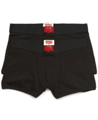Levi's Men's 200 Series Trunks 2 Pack Black
