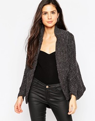 Lipsy Cable Knit Shrug 021Grey