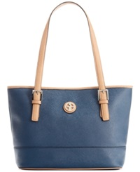 Giani Bernini Saffiano Tote Navy