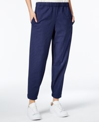 Rachel Roy Pull On Pants Only At Macy's Navy White