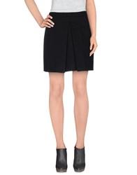 Kaos Skirts Mini Skirts Women Black