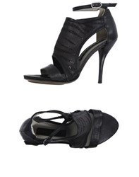 Malloni Footwear Sandals Women Black
