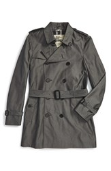 Men's Burberry London 'Kensington' Double Breasted Trench Coat