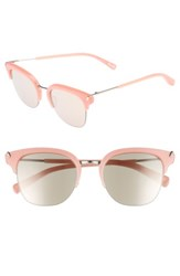 Elizabeth And James Women's Burke 52Mm Horn Rimmed Sunglasses Bubblegum