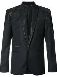 Philipp Plein Only Me Blazer Black