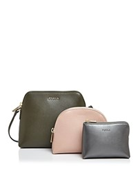 Furla Extra Large Boheme Crossbody Pouch Set Military Multi