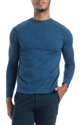 Good Man Brand Modern Slim Fit Merino Wool Sweater Indigo