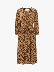 Lk Bennett L.K.Bennett Roman Wrap Dress Animal