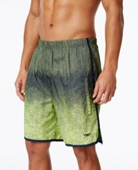 Speedo Men's Compression Jammer Swim Trunks 8 Sport Neon