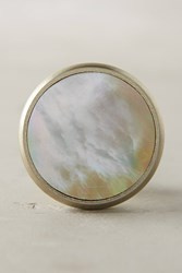 Anthropologie Opaline Knob Orange