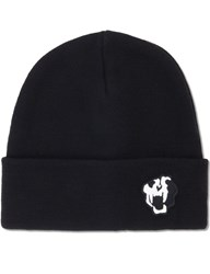 Nonagon Tigher Skull Embroidery Beanie