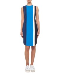 Akris Punto Colorblock Sleeveless Shift Dress Deep Blue Dpblue