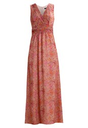More And More Maxi Dress Spicy Orange