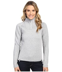 The North Face Neo Thermal Pullover Tnf Light Grey Heather Women's Long Sleeve Pullover Gray