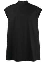 Rick Owens Drkshdw Sleeveless T Shirt Black