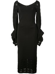 Roland Mouret Boynton Dress Black
