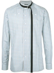 Raf Simons Checked Shirt Green