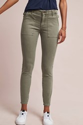 Anthropologie Slim Utility Cargo Pants Moss