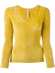 Antonio Marras V Neck Jumper Yellow And Orange