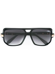 Cazal '627' Aviator Sunglasses Black