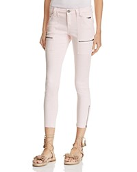 Joie Park Skinny Cargo Pants 100 Exclusive Powder Blush