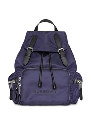 Burberry The Medium Rucksack Backpack Blue